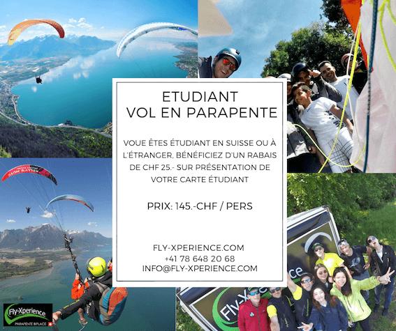 Student & Paragliding