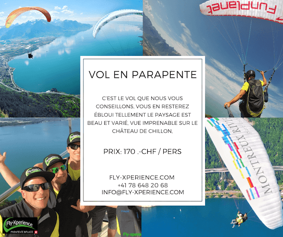 Vol biplace en parapente