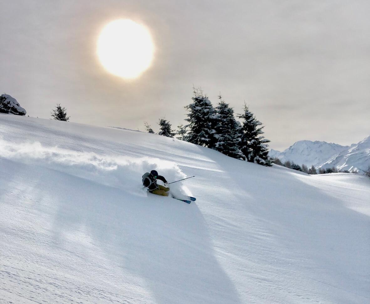 Ski unterricht in Verbier